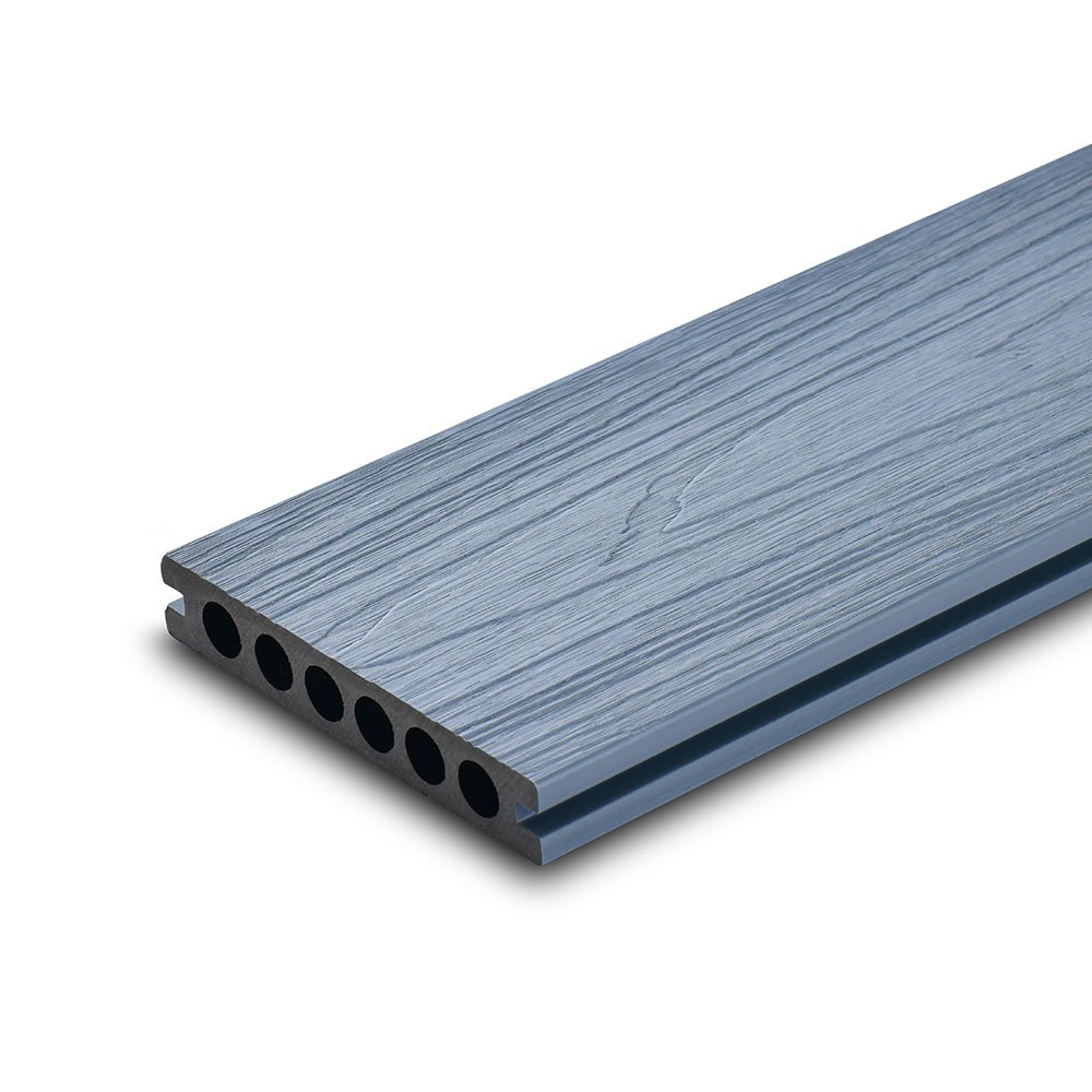 Circle-Hollow-co-extrusion-wpc-decking-Light-Grey-Newshield