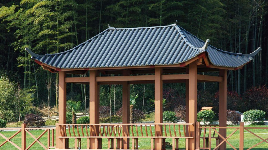 WPC-Gazebo-With-Wood-Plastic-Composite-Material