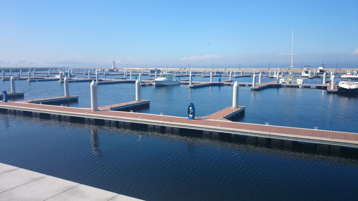 composite decking for Bridge of Yacht